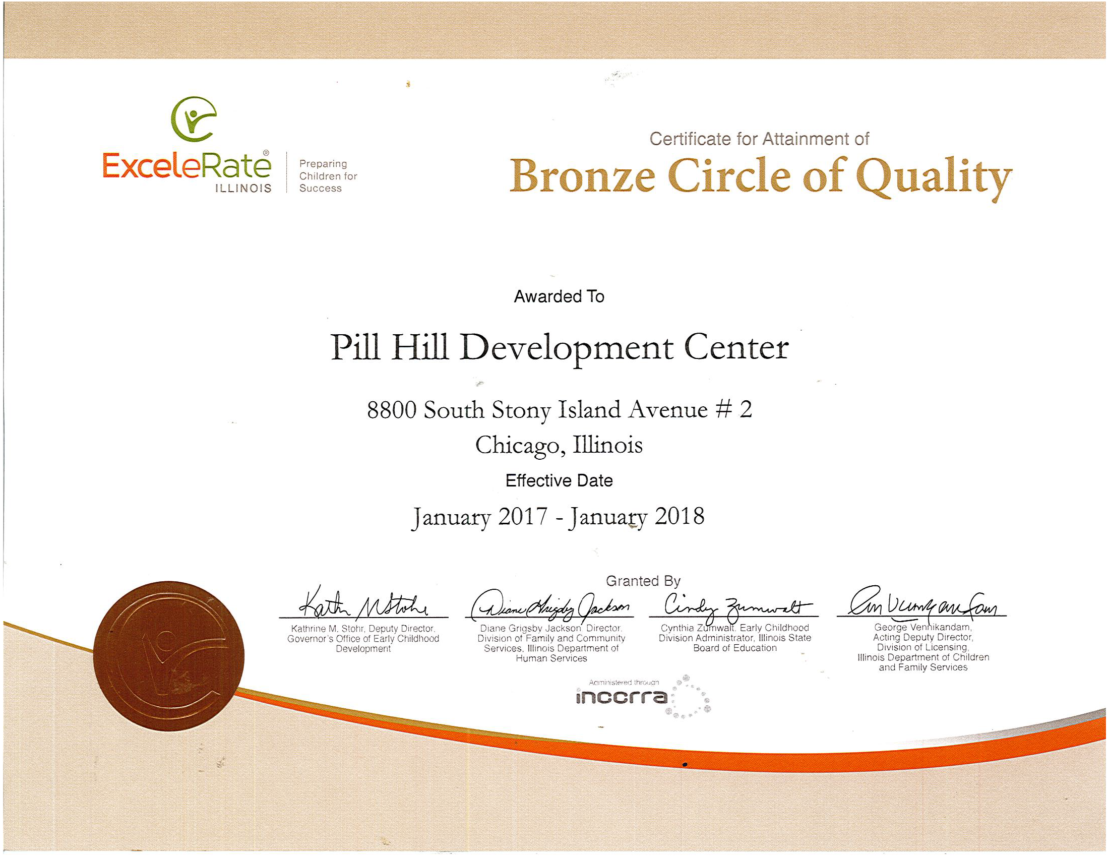 Certifications the premier child care centers near the pier certifications xflitez Image collections